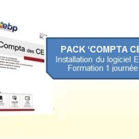 Pack COMPTA CE : Installation du logiciel EBP + Formation 1 journée